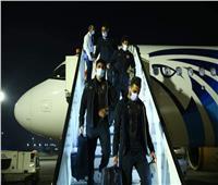 دوري أبطال إفريقيا| بعثة الأهلي تصل القاهرة بعد التعادل مع المريخ
