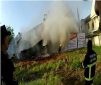 مصرع 5 أشخاص على الأقل خلال انهيار مبنى في بانكوك