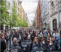 مظاهرات حاشدة ضد قيود فيروس «كورونا» في ألمانيا