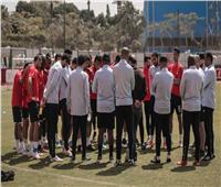 موسيماني يحاضر لاعبي الأهلي استعدادًا لسيمبا