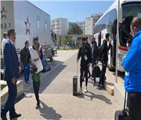 بيراميدز يصل إلى ملعب محمد الخامس