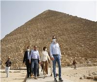 مدير عام منظمة اليونسكو تزور القاهرة التاريخية ومنطقتي سقارة والأهرامات