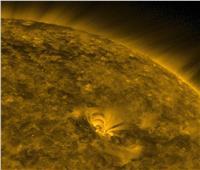 الأقمار الصناعية ترصد بقعة جديدة في النصف الشمالي للشمس