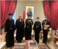 البابا تواضروس يستقبل الرئيس الإقليمي للمدارس اللاسالية
