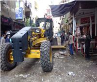 حملات للنظافة في شوارع بولاق الدكرور بالجيزة