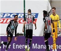 نيوكاسل يفرض التعادل على توتنهام في الدوري الإنجليزي