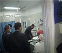 وكيل صحة المنوفية يتابع تطعيم المواطنين بلقاح كورونا.. صور