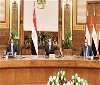 الرئيس: أمن الأردن جزء من الأمن القومى المصرى والعربى