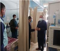 نائب رئيس جامعة الأزهر بأسيوط يتفقد المستشفى الجامعي