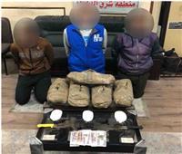 ضبط 21 تاجر مخدرات بحوزتهم 50 طربة حشيش وهيروين بالمحافظات| صور