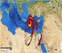 «الأرصاد» تنفي تعرض مصر لكتلة ضخمة من ثاني أوكسيد الكبريت
