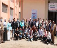 جامعة المنوفية تحتفل بيوم الحقل في مزرعة قرية الراهب