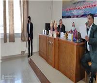 جامعة حلوان تحتفل بيوم اليتيم في كفر العلو
