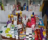 التحفظ على كمية كبيرة من الأدوية المهربة داخل صيدلية بعابدين