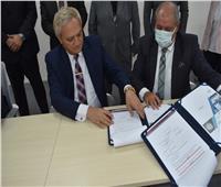 بروتوكول تعاون بين مياه مطروح والأكاديمية العربية للعلوم والتكنولوجيا