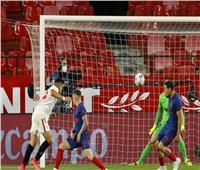 هدف فوز إشبيلية على أتلتيكو مدريد يشعل لقاء الكلاسيكو الإسباني | فيديو