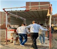 حملة إشغالات في أوسيم بالجيزة | صور