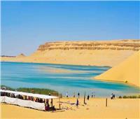 شاهد  معلومات عن البحيرة المسحورة بوادي الريان