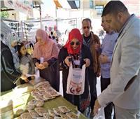 افتتاح معرض «أهلا_رمصان» بالعريش