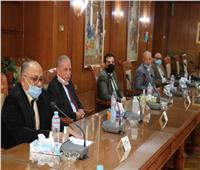 جامعة المنوفية تستقبل فريق المراجعة الخارجية لـ«شهادات الأيزو»