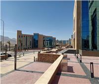 وزير التعليم العالي يستعرض تقريرًا حول البنية المعلوماتية بجامعة الجلالة