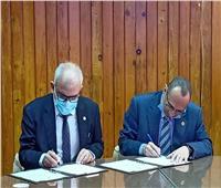 اتفاقية تعاون بين الهندسة الإلكترونية بالمنوفية ووكالة الفضاء المصرية