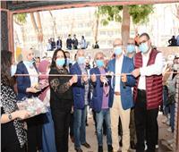 جامعة أسيوط تشارك طلاب كلية الفنون الجميلة افتتاح معرضهم الفني