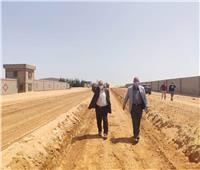 «رئيس المجتمعات العمرانية الجديدة» يتفقدالمشروعات الجارية بمدينة السادات