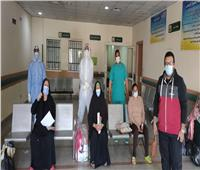 ارتفاع حالات التعافي من كورونا بمستشفى قفط بقنا إلى 227 حالة  صور