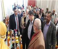 افتتاح المعرض التسويقي لمنتجات التربية والتعليمبشمال سيناء