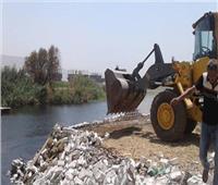 إزالة 195 حالة تعد على نهر النيل في بني سويف