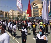 انطلاق مهرجان التميز الرياضي بجامعة كفر الشيخ