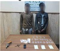 سقوط 21 تاجر مخدرات بـ100 طربة حشيش وأسلحة نارية  صور