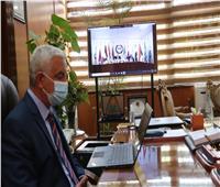 جامعة المنوفية تشارك في افتتاح الدورة الـ 53 لاتحاد الجامعات العربية 