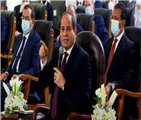 السيسي: الدولة المصرية تعمل على تعظيم الإستفادة من المياه   فيديو