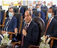 الرئيس السيسي:  كل الخيارات مفتوحة في قضية مياه النيل.. فيديو