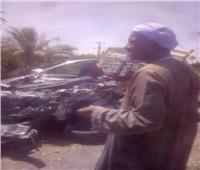 مصرع 4 وإصابة آخرين في حادث تصادم سيارتين بالأقصر