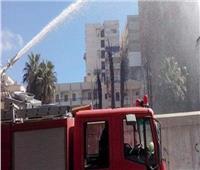 السيطرة على حريق كراكيب سطوح عقار بالزاوية الحمراء