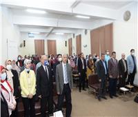 انطلاق ندوة الاتجاهات الحديثة في البحوث الإنسانية بجامعة أسيوط