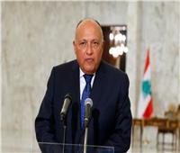 وزير الخارجية يجري مباحثات مع رئيس حزب الكتائب اللبنانية