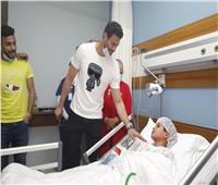 الشناوي خلال زيارته لمستشفى الناس: الأهلي لا يتأخر عن دوره المجتمعي
