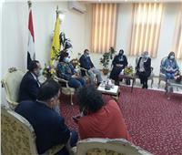 بعد إحلاله وتجديده.. وزيرة الثقافة تفتتح قصر ثقافة العريش
