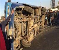 «نيابة جنوب المنيا» تحقيق في حادث انقلاب سيارة محملة بـ24 طن زيت