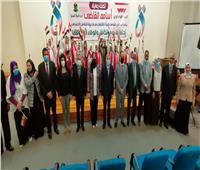 محافظ المنيا يشهد احتفالية «قومي المرأة» بيوم اليتيم بمشاركة ذوي الهمم