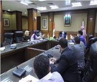 نائب محافظ سوهاج يترأس اجتماع لجنة «تراخيص البناء»