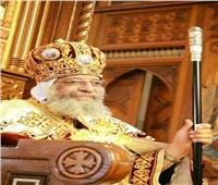 البابا تواضروس يترأس القداس الآلهي بكنيسة الملاك ميخائيل بالإسكندرية