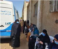 تنظيم قافلة للصحة الإنجابية بقرى مركز أشمون