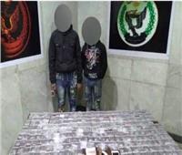ضبط عاطليستغل الأطفال في توزيع المخدرات  بالجيزة