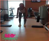 من داخل الجيم.. «دينا الشربيني» تشارك متابعيها بفيديو أثناء التمارين