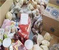 ضبط 22 طن أغذية فاسدة وخباز يستولى على ربع مليون جنيه بالبيع الوهمي للعيش